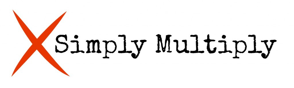 simply Multiply logo white